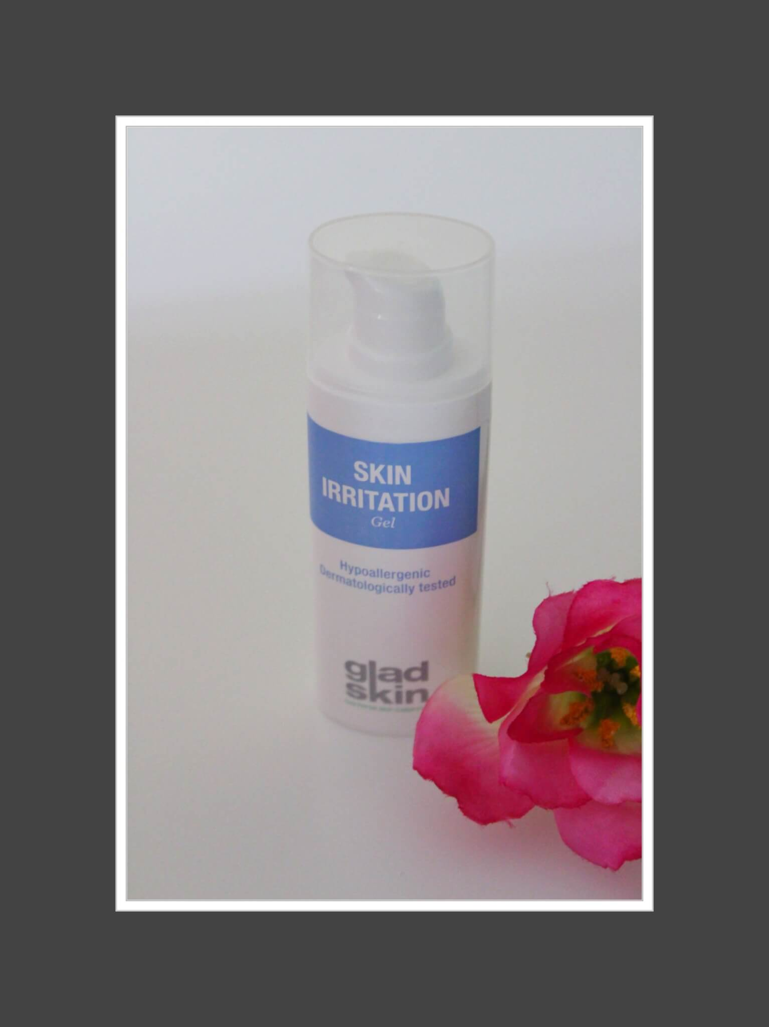 gladskin skin irritation gel